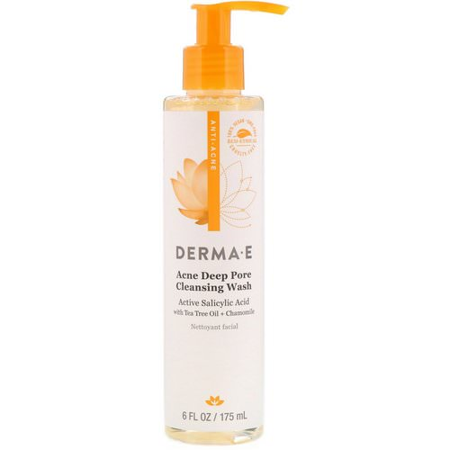 Derma E, Acne Deep Pore Cleansing Wash, 6 fl oz (175 ml) Review