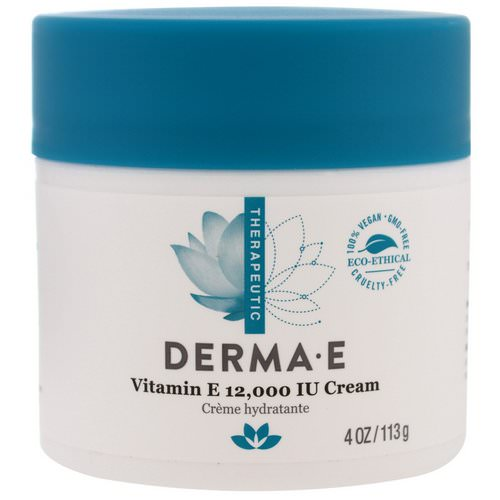 Derma E, Vitamin E 12,000 IU Creme, 4 oz (113 g) Review