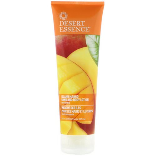 Desert Essence, Hand and Body Lotion, Island Mango, 8 fl oz (237 ml) Review