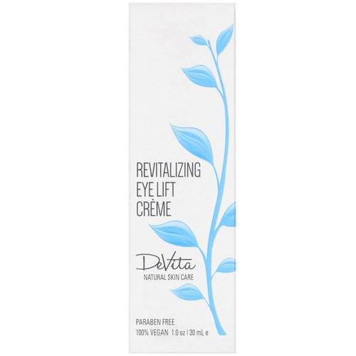 DeVita, Revitalizing Eye Lift Creme, 1 oz (30 ml) Review