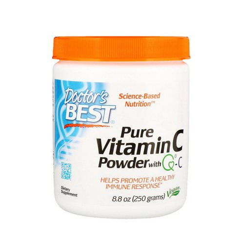 Doctor's Best, Pure Vitamin C Powder with Q-C, 8.8 oz (250 g) Review
