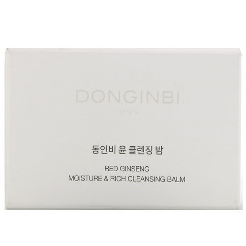 Donginbi, Red Ginseng Moisture & Rich Cleansing Balm, 4.73 fl oz (140 ml) Review
