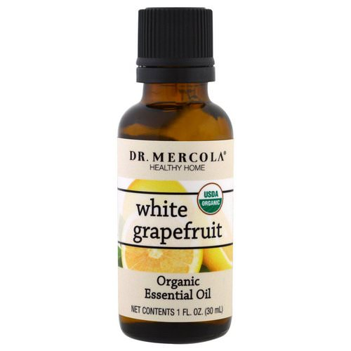 Dr. Mercola, Organic Essential Oil, White Grapefruit, 1 oz (30 ml) Review
