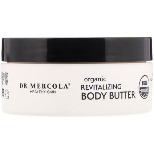 Dr. Mercola, Organic Revitalizing Body Butter, Sweet Orange, 4 oz Review