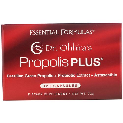 Dr. Ohhira's, Propolis Plus, 120 Capsules Review