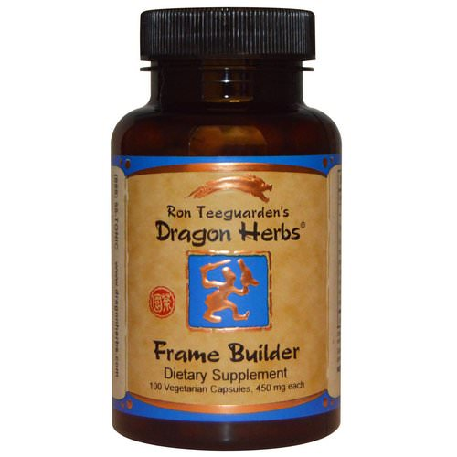 Dragon Herbs, Frame Builder, 450 mg, 100 Veggie Caps Review