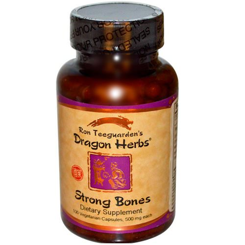 Dragon Herbs, Strong Bones, 500 mg, 100 Veggie Caps Review