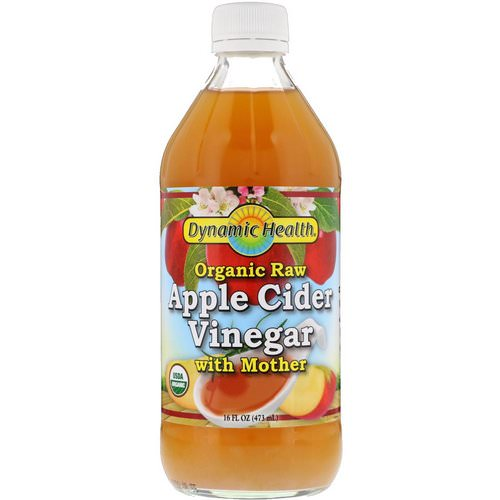 Dynamic Health Laboratories, Organic Raw Apple Cider Vinegar with Mother, 16 fl oz (473 ml) Review
