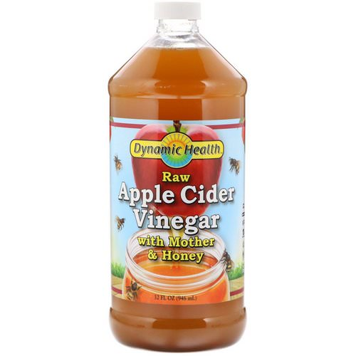 Dynamic Health Laboratories, Raw Apple Cider Vinegar with Mother & Honey, 32 fl oz (946 ml) Review