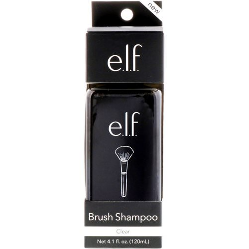 E.L.F, Brush Shampoo, Clear, 4.1 fl oz (120 ml) Review