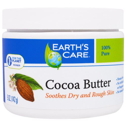 Earth's Care, Cocoa Butter, 5 oz (142 g) Review
