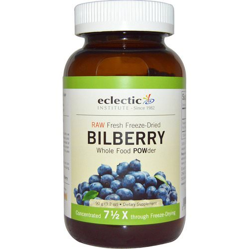 Eclectic Institute, Bilberry, Whole Food POWder, 3.2 oz (90 g) Review
