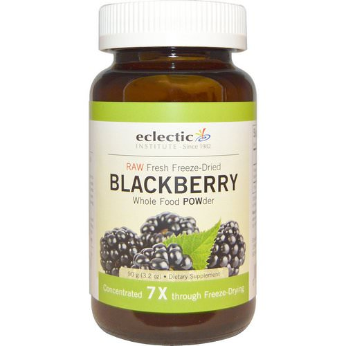 Eclectic Institute, Blackberry POWder, Raw, 3.2 oz (90 g) Review