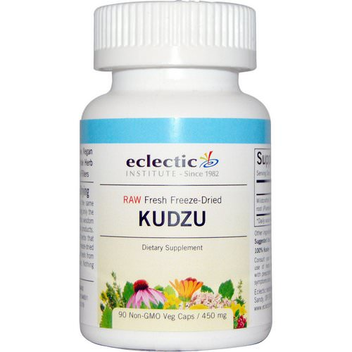 Eclectic Institute, Kudzu, 450 mg, 90 Non-GMO Veggie Caps Review