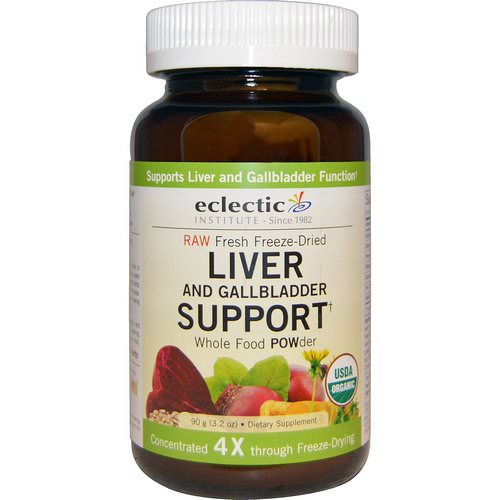 Eclectic Institute, Organic Liver and Gallbladder Support, Whole Food POWder, 3.2 oz (90 g) Review