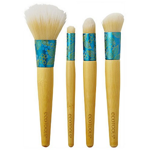 EcoTools, Four-Piece Beautiful Complexion Set, 4 Brushes Review