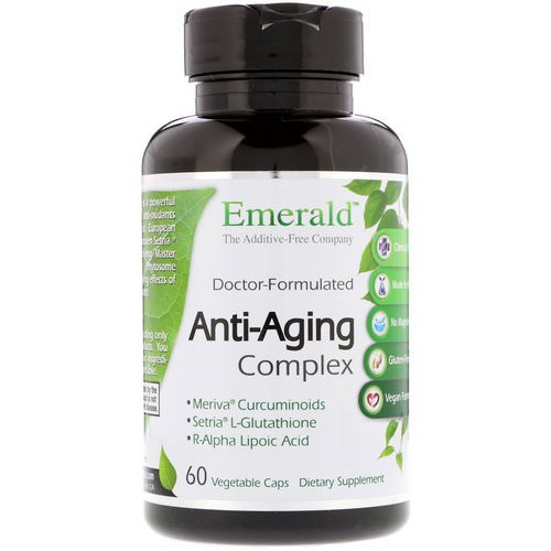 Emerald Laboratories, Anti-Aging Complex, 60 Vegetable Caps Review