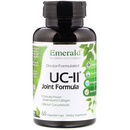 Emerald Laboratories, UC-II Joint Formula, 60 Vegetable Caps Review