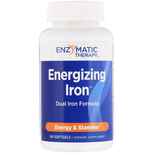 Nature's Way, Energizing Iron, Dual Iron Formula, 90 Softgels Review