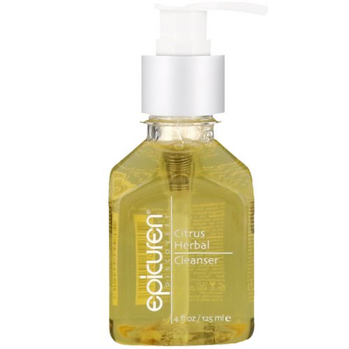 Epicuren Discovery, Citrus Herbal Cleanser, 4 fl oz (125 ml) Review