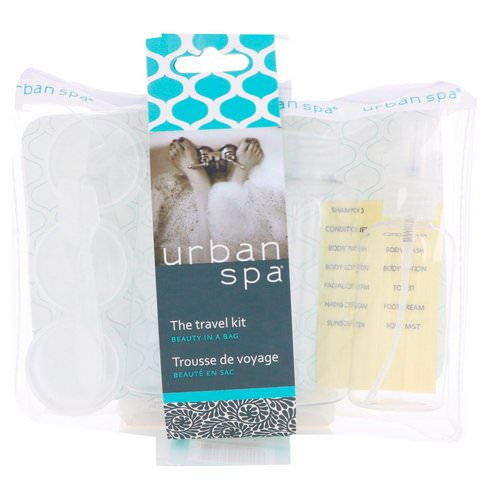 European Soaps, Urban Spa, The Travel Kit, 7 Piece Kit Review