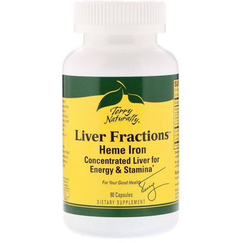 EuroPharma, Terry Naturally, Liver Fractions, 90 Capsules Review
