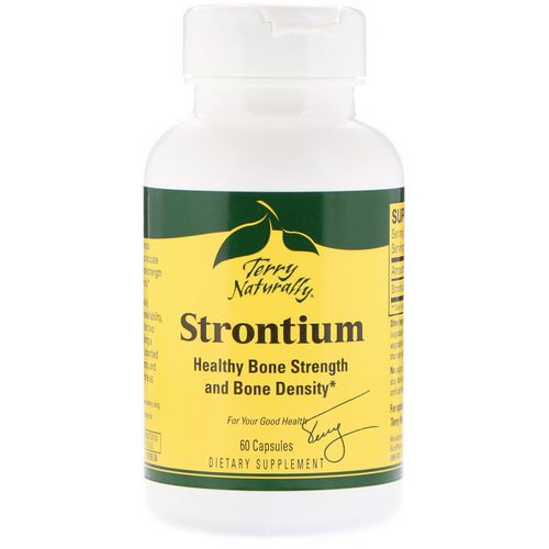 EuroPharma, Terry Naturally, Strontium, 60 Capsules Review