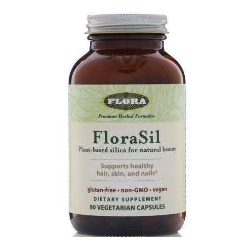 Flora, FloraSil, Plant Based Silica for Natural Beauty, 90 Veggie Caps Review
