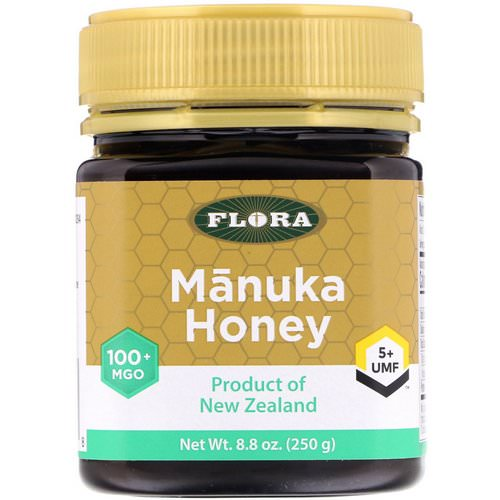 Flora, Manuka Honey, MGO 100+, 8.8 oz (250 g) Review