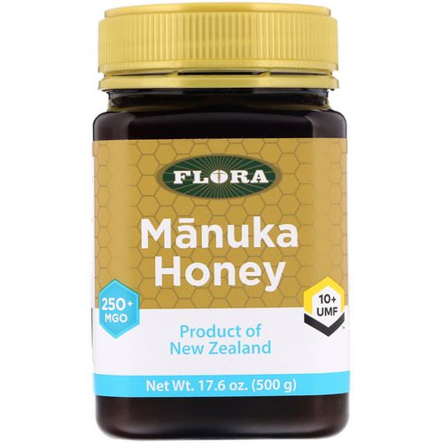 Flora, Manuka Honey, MGO 250+, 17.6 oz (500 g) Review