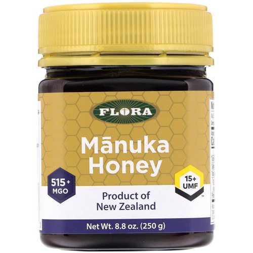 Flora, Manuka Honey, MGO 515+, 8.8 oz (250 g) Review