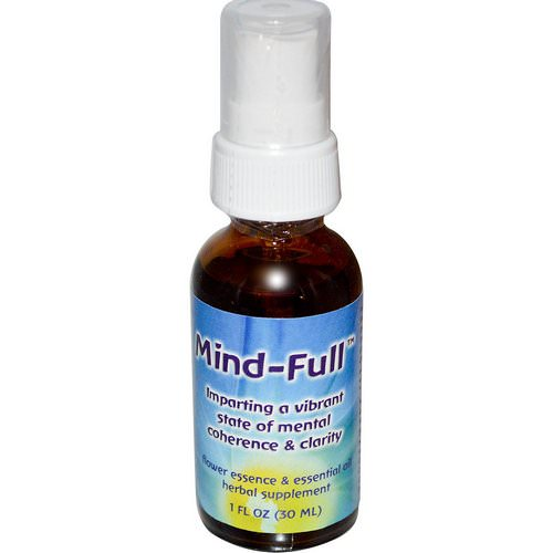 Flower Essence Services, Mind-Full, Flower Essence & Essential Oil, 1 fl oz (30ml) Review