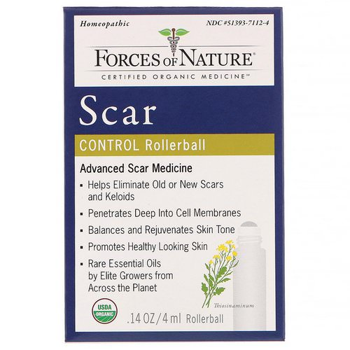 Forces of Nature, Scar Control, Rollerball, 0.14 oz (4 ml) Review