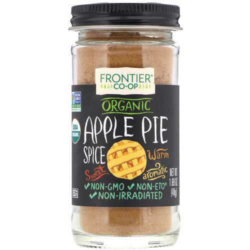 Frontier Natural Products, Organic, Apple Pie Spice, 1.69 oz (48 g) Review