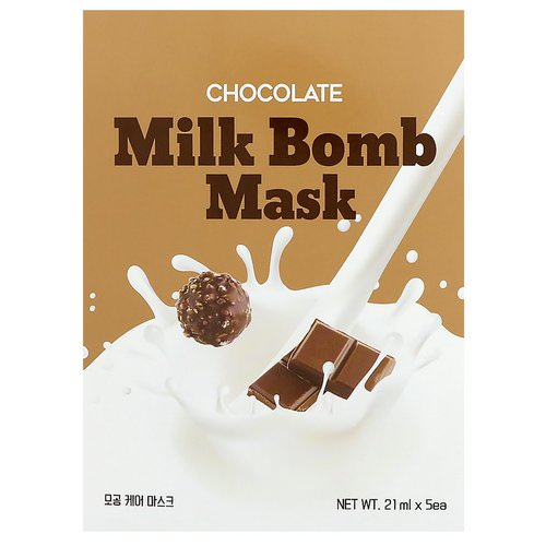 G9skin, Chocolate Milk Bomb Mask, 5 Masks, 21 ml Each Review