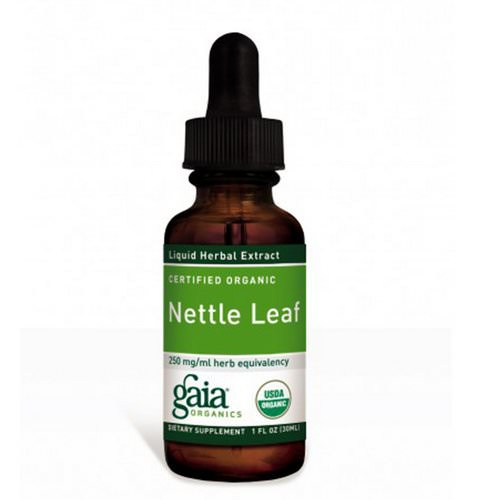 Gaia Herbs, Certified Organic, Nettle Leaf, 1 fl oz (30 ml) Review