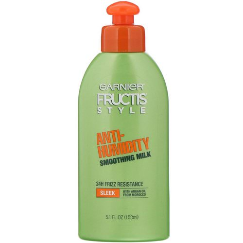 Garnier, Fructis, Anti-Humidity, Smoothing Milk, 5.1 fl oz (150 ml) Review