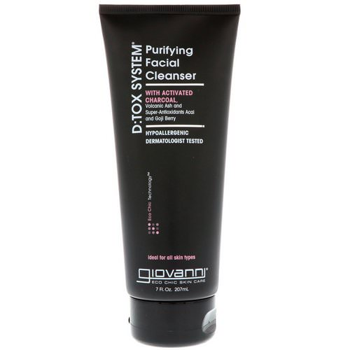 Giovanni, D:Tox System, Purifying Facial Cleanser, 7 fl oz (207 ml) Review