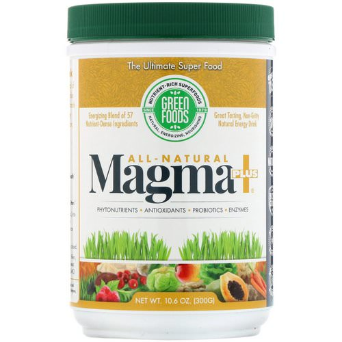 Green Foods, All-Natural Magma Plus, 10.6 oz (300 g) Review
