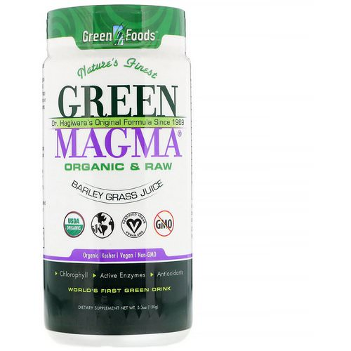 Green Foods, Green Magma, Barley Grass Juice, 5.3 oz (150 g) Review
