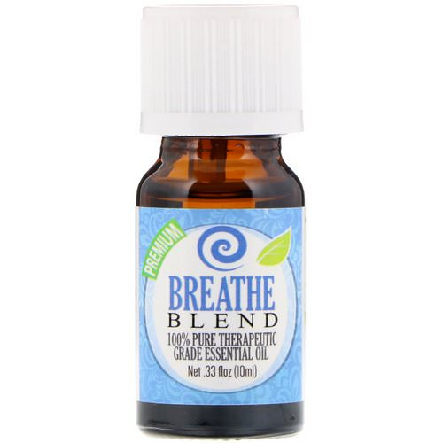 Healing Solutions, 100% Pure Therapeutic Grade Essential Oil, Breathe Blend, 0.33 fl oz (10 ml) Review