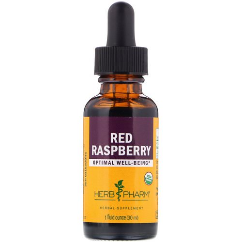 Herb Pharm, Red Raspberry, 1 fl oz (30 ml) Review