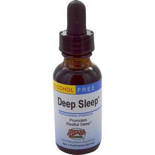 Herbs Etc, Deep Sleep, Alcohol Free, 1 fl oz (29.5 ml) Review