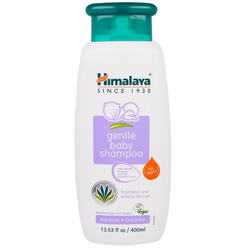 Himalaya, Gentle Baby Shampoo, Hibiscus and Chickpea, 13.53 fl oz (400 ml) Review