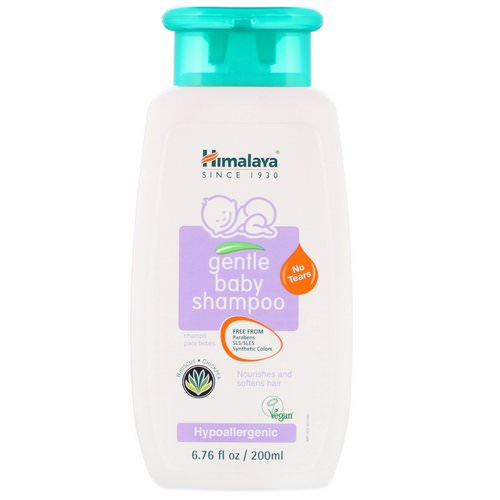 Himalaya, Gentle Baby Shampoo, Hibiscus and Chickpea, 6.76 fl oz (200 ml) Review