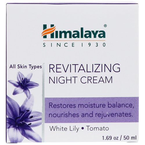 Himalaya, Revitalizing Night Cream, 1.69 oz (50 ml) Review
