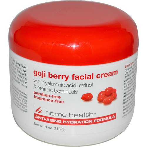 Home Health, Goji Berry Facial Cream, 4 oz (113 g) Review