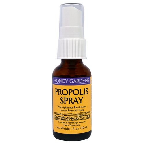 Honey Gardens, Propolis Spray, 1 fl oz (30 ml) Review