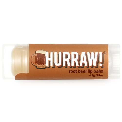 Hurraw! Balm, Lip Balm, Root Beer, .15 oz (4.3 g) Review