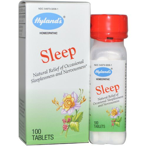 Hyland's, Sleep, 100 Tablets Review